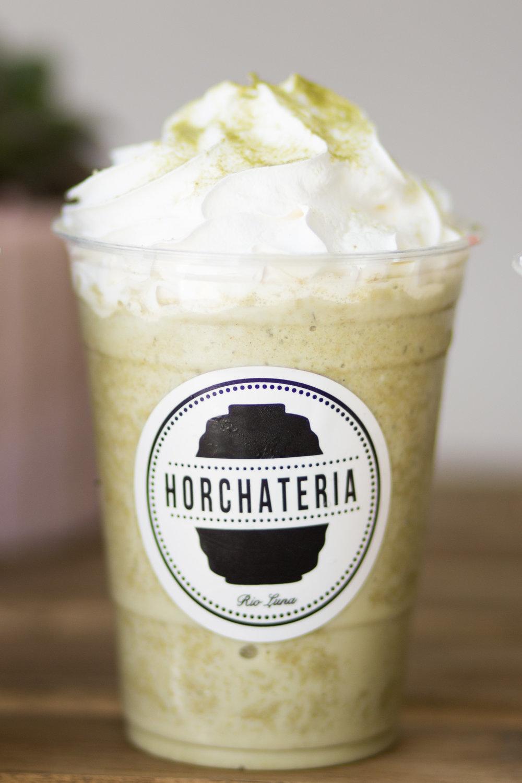 Green Tea Horchata Frappe