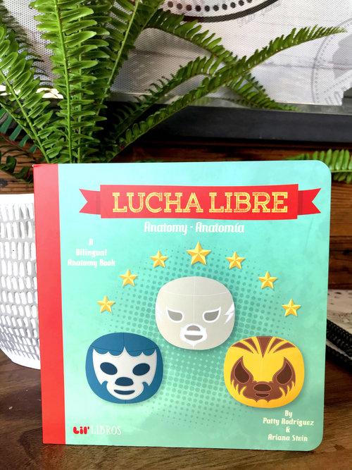 Lucha Libre Anatomy/Anatomia — Horchateria Rio Luna
