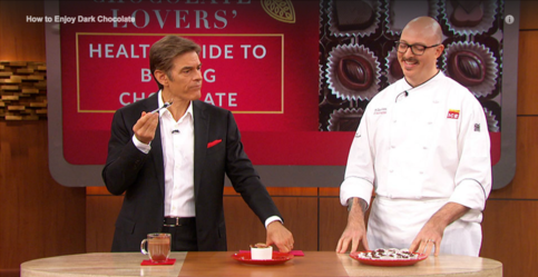 Dr Oz and Chef James Distefano