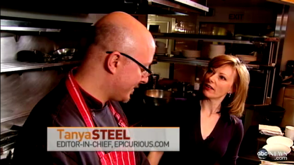 James Distefano and Tanya Steel team up to create Heirloom Citrus Parfait, on Chef's Table,ABC News