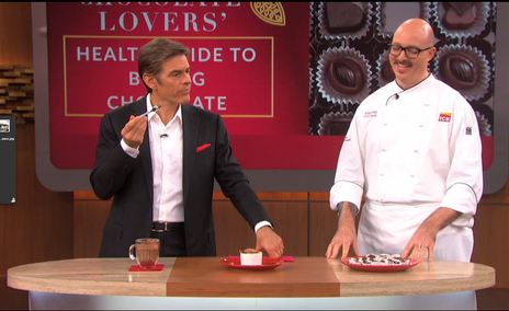 Chef James Distefano with Dr. Oz