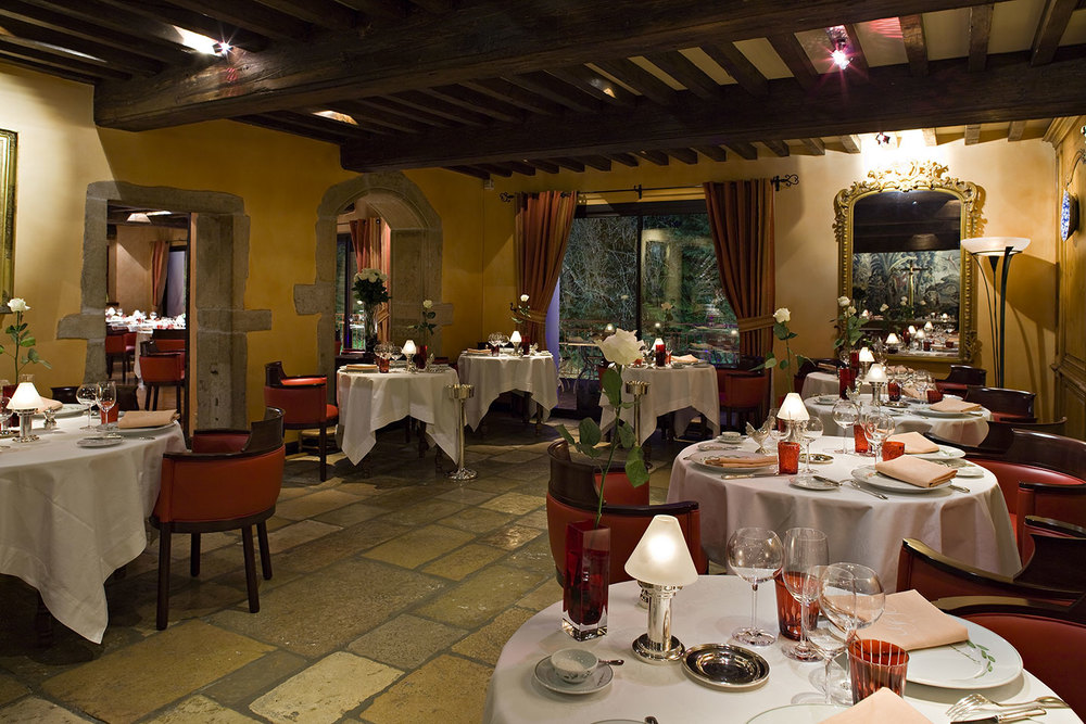 Michelin-starred Restaurant Georges Blanc in Vonnas, France
