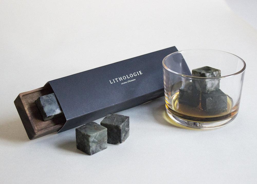 ....Whiskey Stones | Lithologie..Pierres à whiskey | Lithologie....