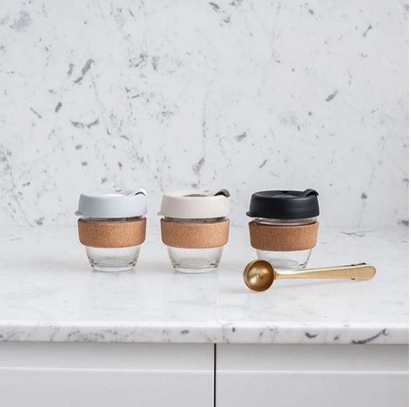 ....Glass Coffee Mug | Keepcup..Tasse à café en verre | Keepcup....