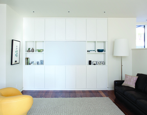 Entertainment Center In Classic White