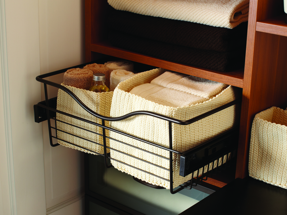 Pull-Out Wire Basket