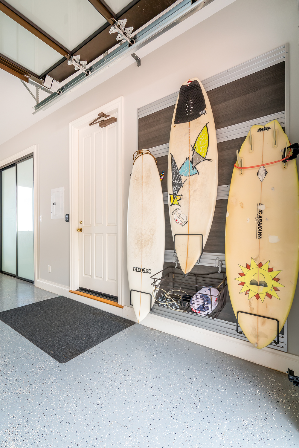 Surfboard Fusion Storage Wall