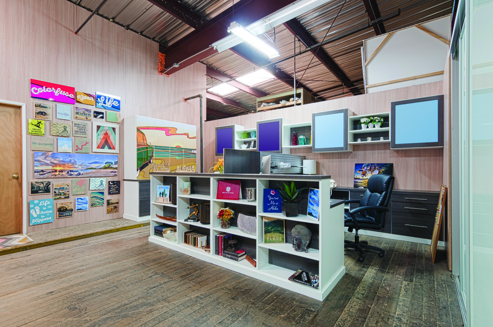 Colorfuse Office Cabinetry