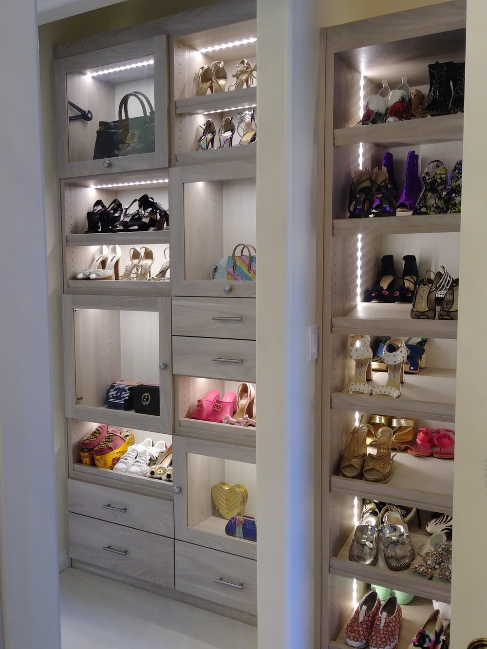 Pebble Beach Walk-In Closet
