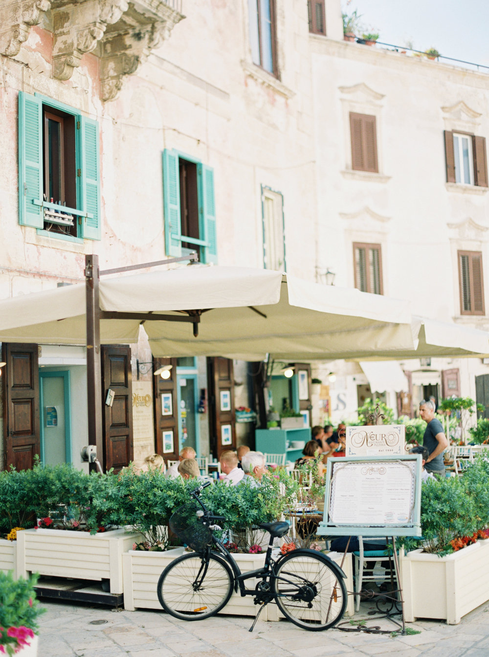 Streets of Polignano a Mare - photographed by Tracy Enoch, destination wedding planned by Meggie Francisco Events
