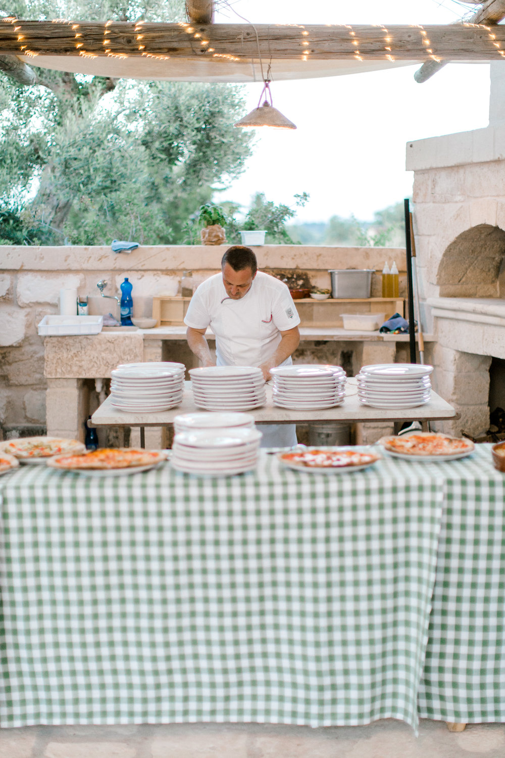 Wood fired oven destination wedding in Puglia, Italy - planned by Meggie Francisco Events, photographed by Tracy Enoch