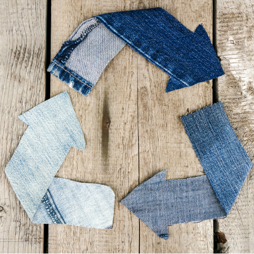 Infographic: Don't Toss Those Jeans