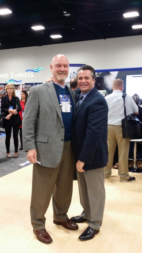 National Convention with former 'student', Brian Buffini