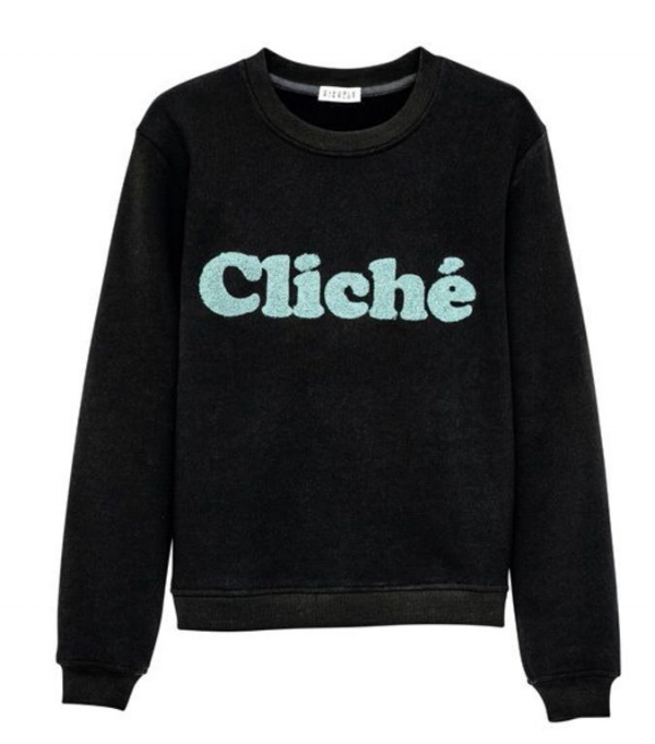 "Pull ""Cliché"" by Claudie Pierlot"
