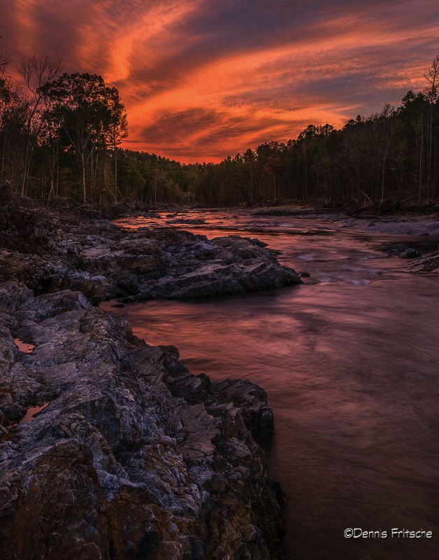 The River at Sunset