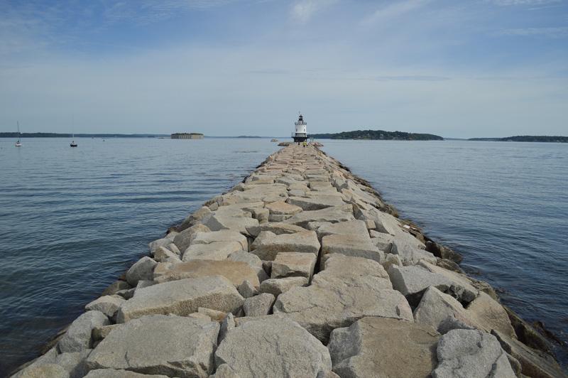 """The """"Maine"""" Lighthouse"""