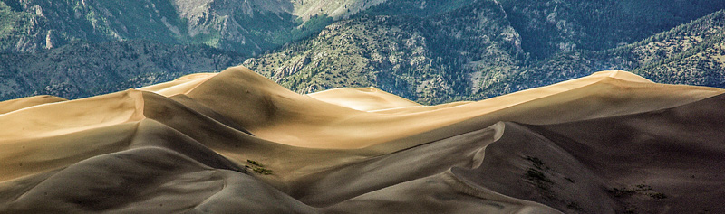 © Ron Marabito, Great Sand Dunes Pano