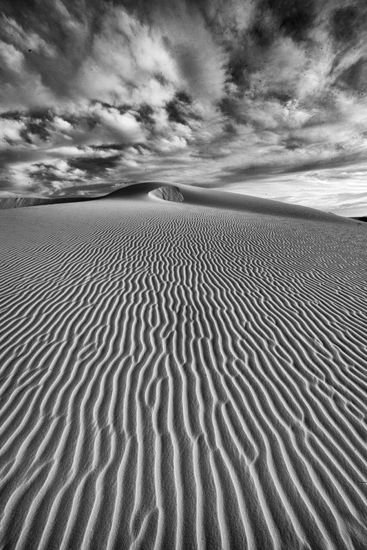 © Ron Marabito, Straight to the point, White Sands, NM