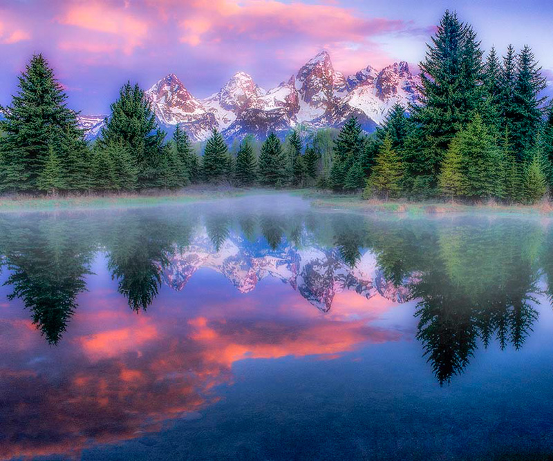 Red Sunrise at Schwabacher
