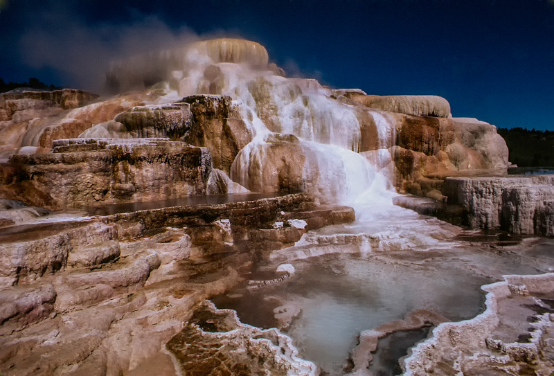 © Ron Marabito, Mammoth Hot Springs, Yellowston NP
