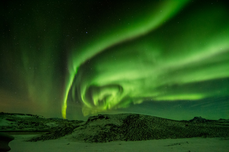Icelandic Northern Lights captures my Heart