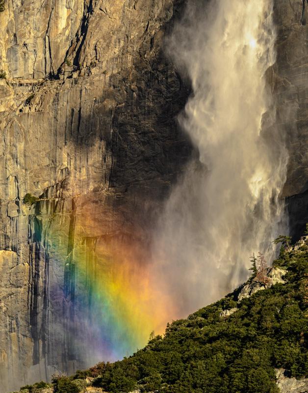 Rainbow Yosemite Falls