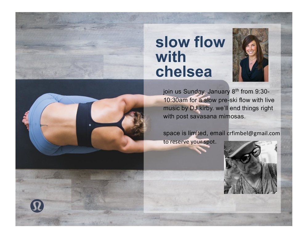 Slow Flow with DJ Kirby & Lululemon — Chelsea Winters Yoga