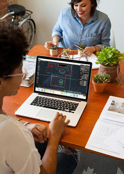 Interior Design Services AutoCAD Floor Plan