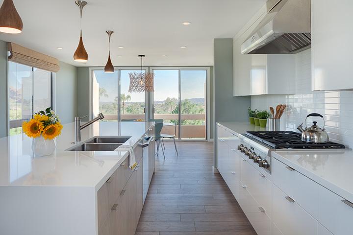 Modern Minimal Kitchen Interior Design Phoenix