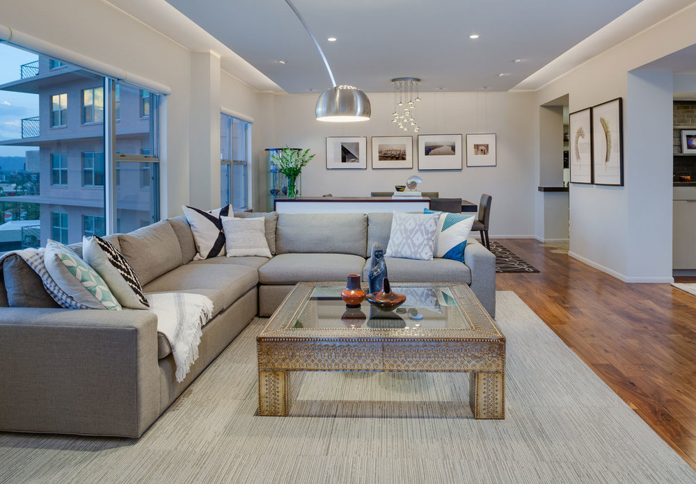 Modern Remodel swanky modern remodel @ phoenix towers — interior design, phoenix