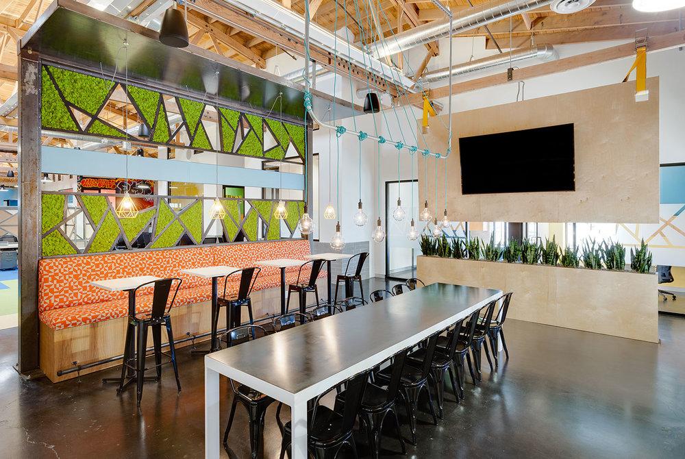 Urban industrial office interior design phoenix mackenzie collier interiors for Interior decorators phoenix az