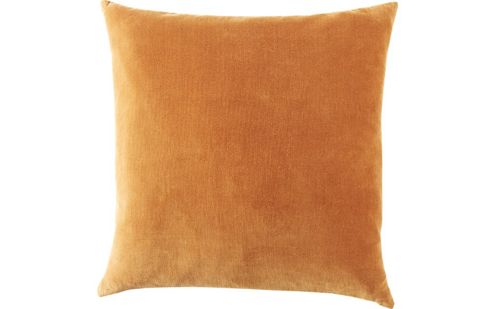 "CB2 23"" Leisure Copper Pillow"