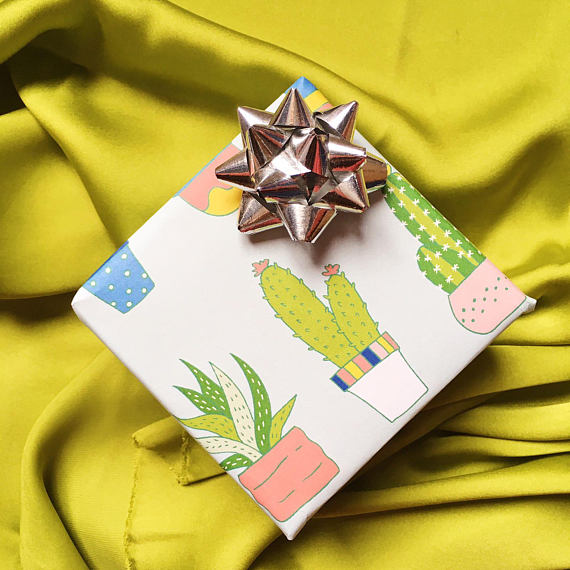 Central 23 Cactus Wrapping Paper