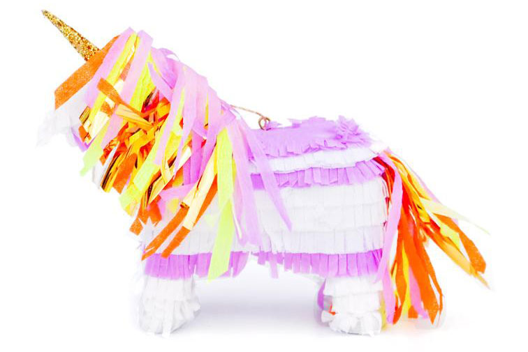 Leif Unicorn Piñata Ornament