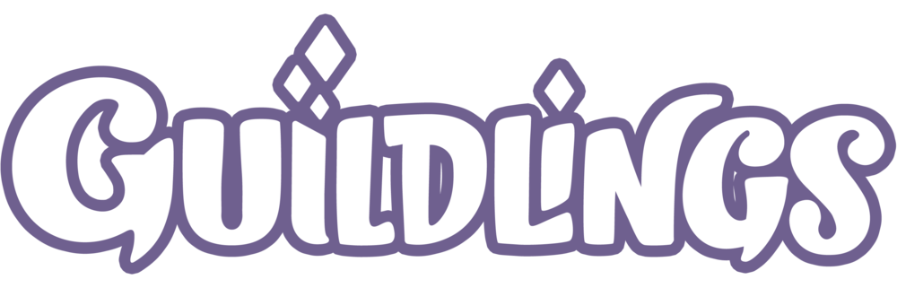 Guildlings Logo - Purple Line