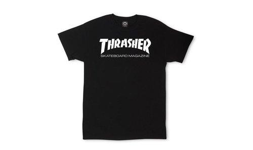 c17d19dea3ac3 Thrasher Skateboard Magazine T-shirt White — Soul Studio