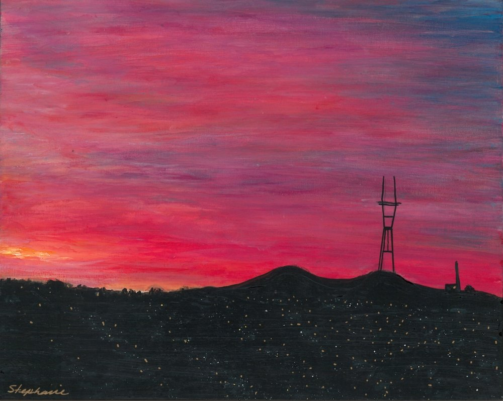 (SOLD) SUTRO SUNSET #1