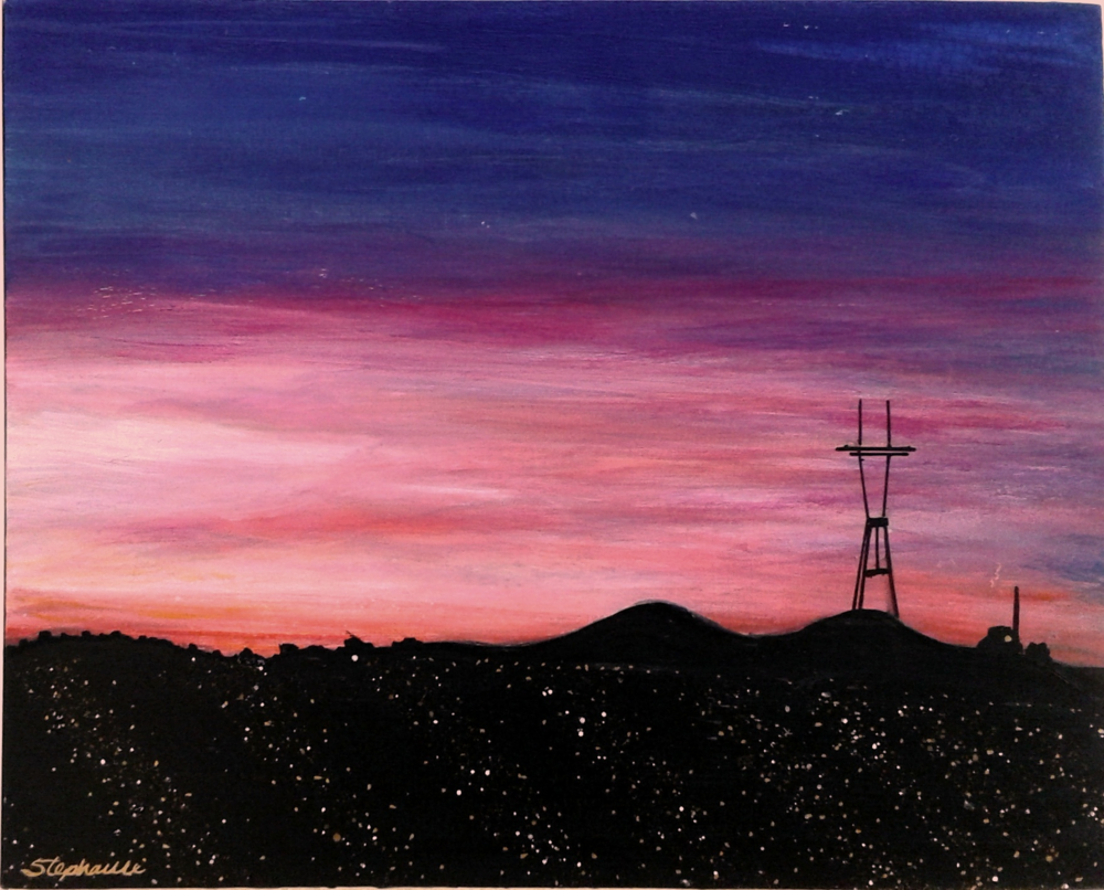 (SOLD) SUTRO SUNSET #2
