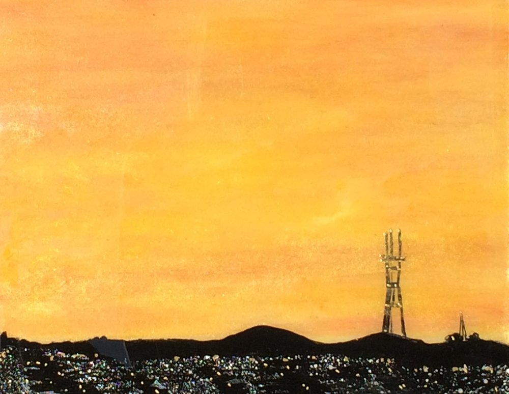 (SOLD) SUTRO SUNSET #6
