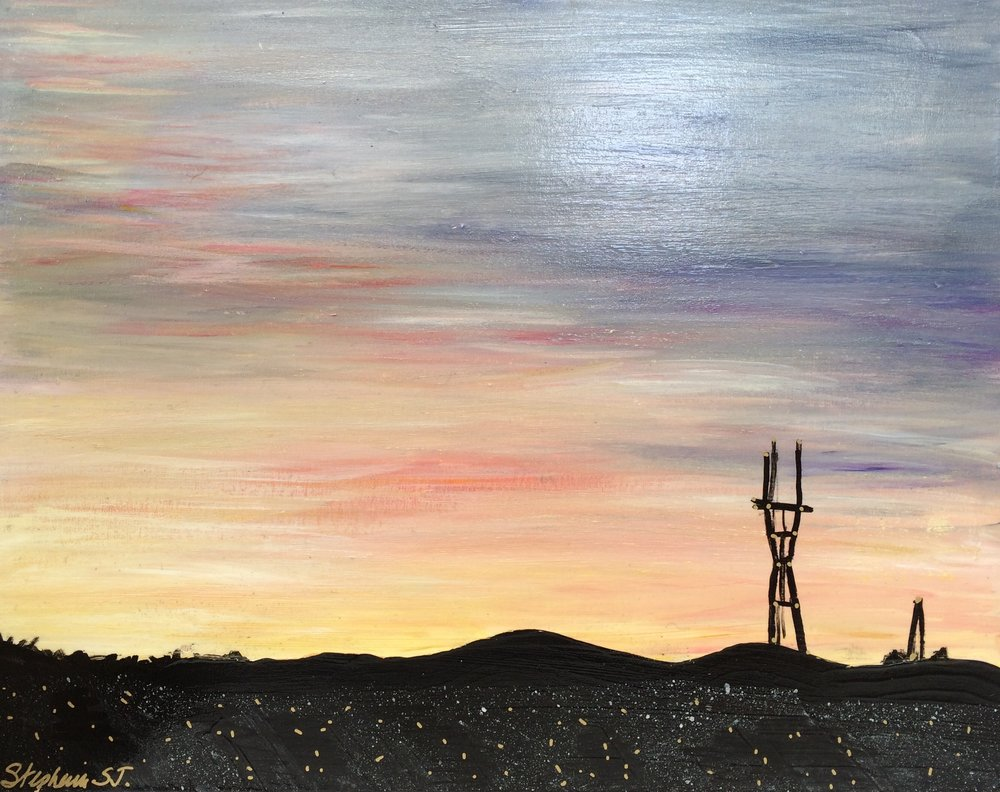 (SOLD) SUTRO SUNSET #7