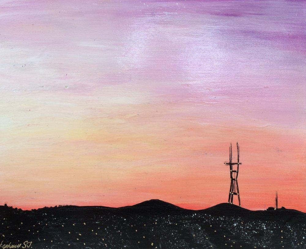 (SOLD) SUTRO SUNSET #9