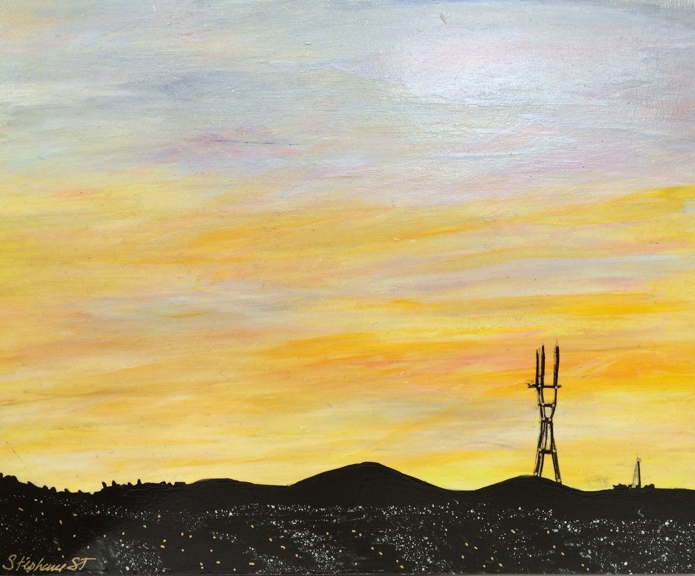 (SOLD) SUTRO SUNSET #10