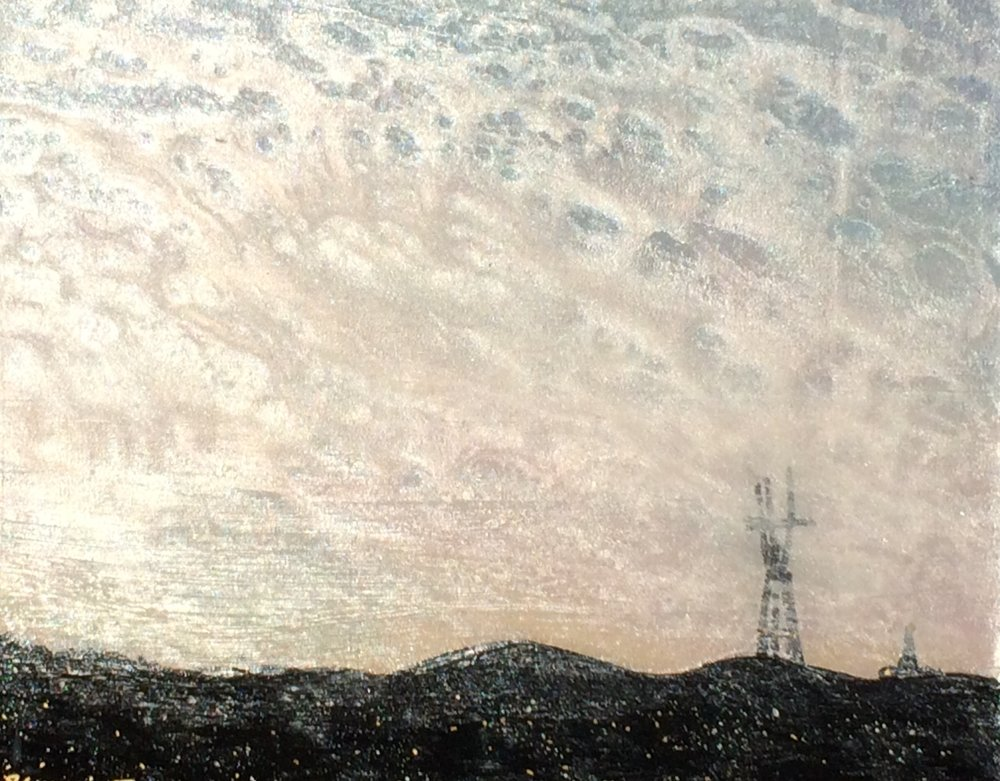 (SOLD) SUTRO SUNSET #13