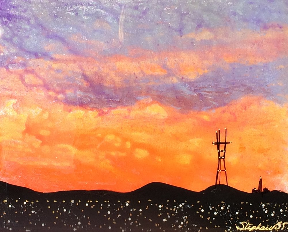 (SOLD) SUTRO SUNSET #15