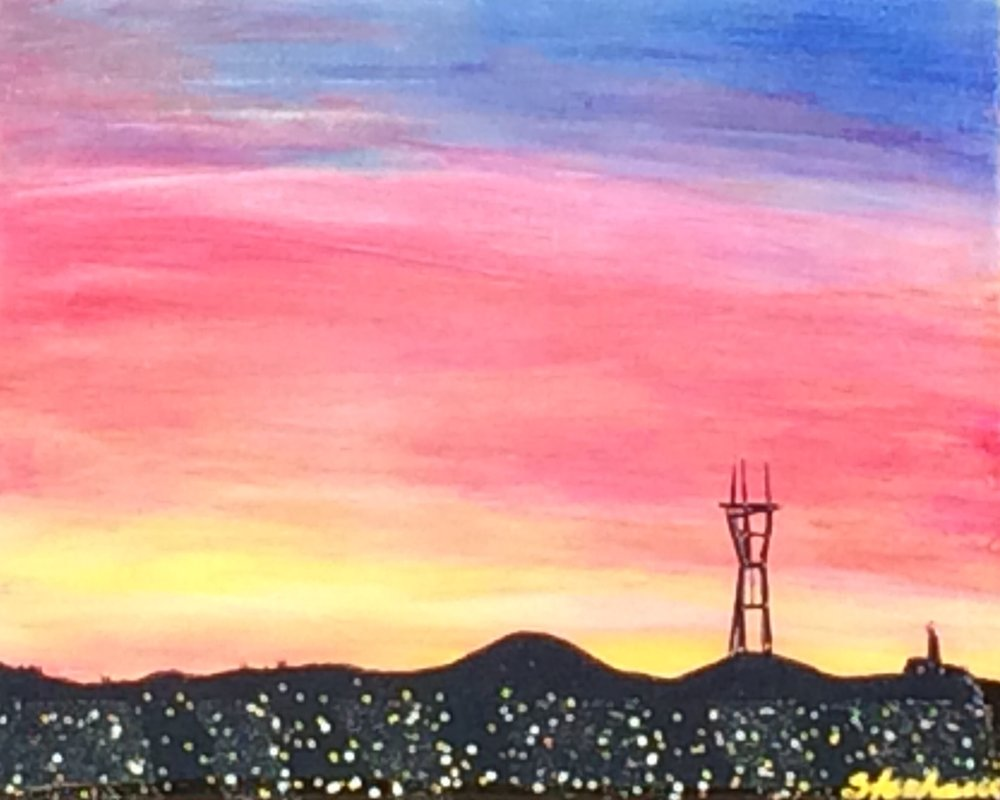 (SOLD) SUTRO SUNSET #16