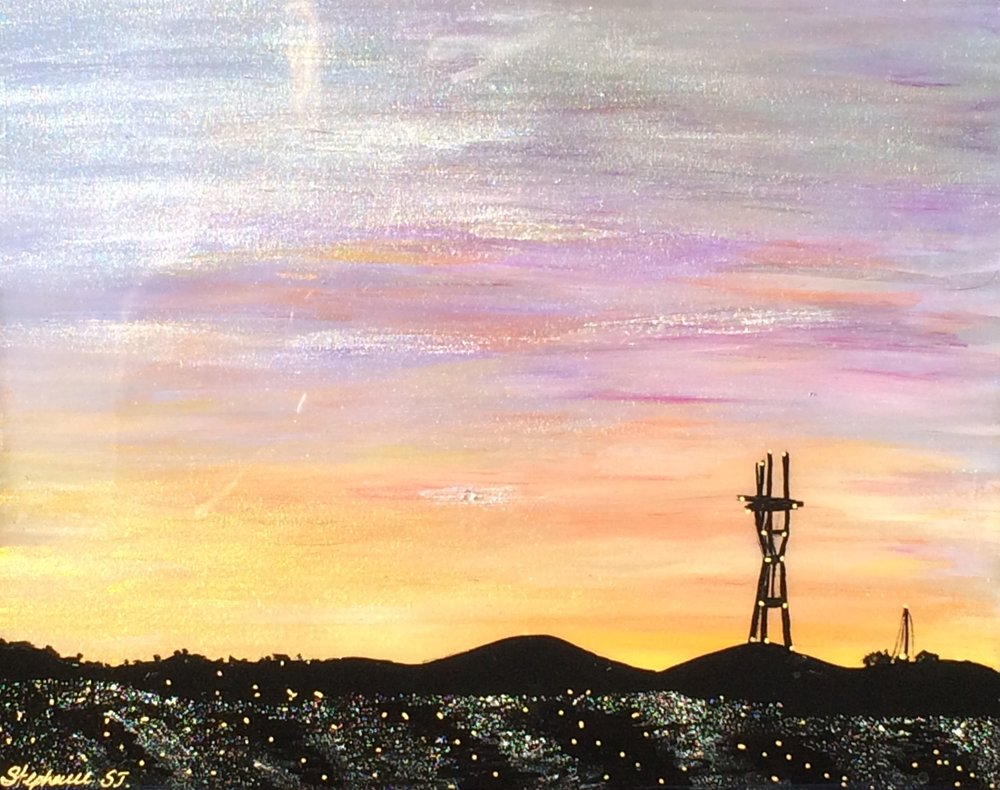 (SOLD) SUTRO SUNSET #17