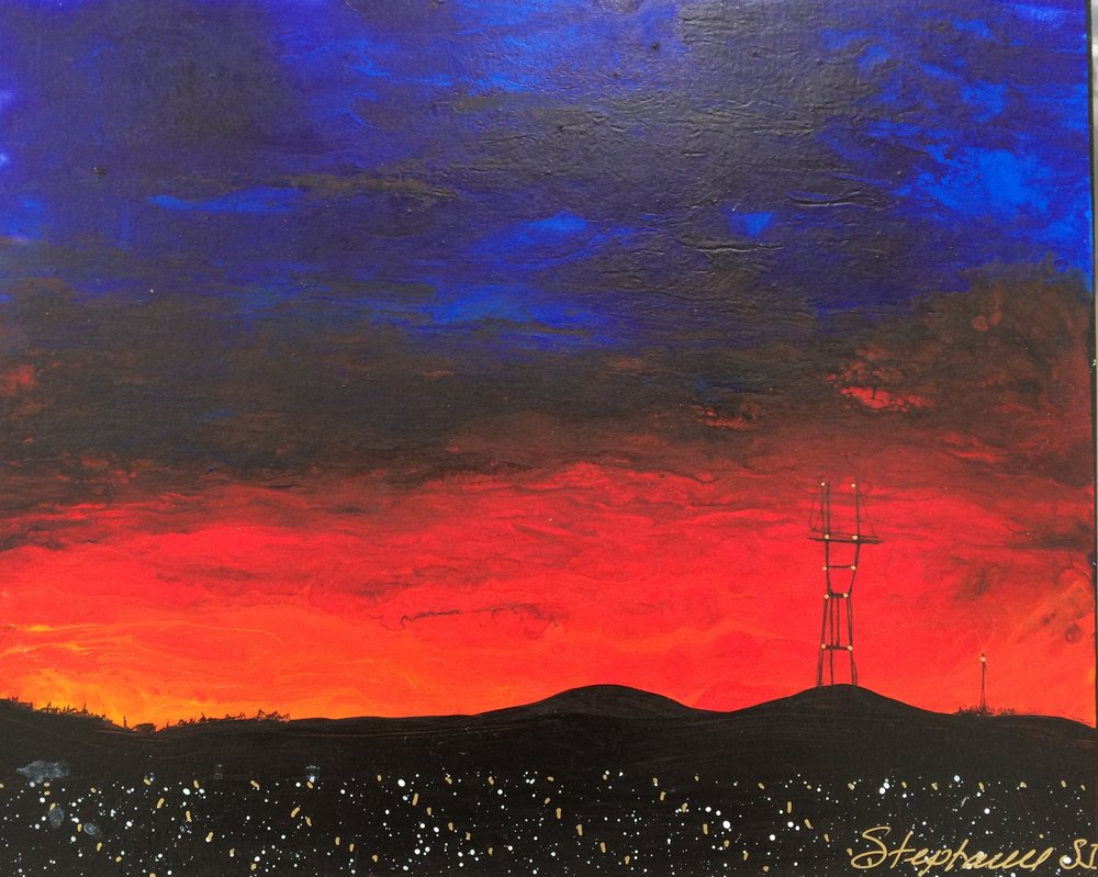 (SOLD) SUTRO SUNSET #20