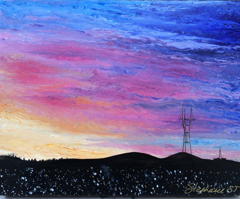 (SOLD) SUTRO SUNSET #26