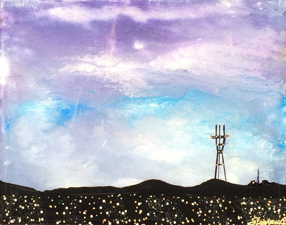 (SOLD) SUTRO SUNSET #18