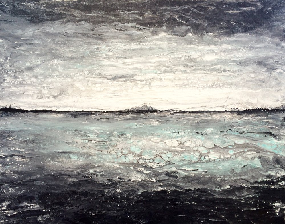 (SOLD) WINTER TIDE